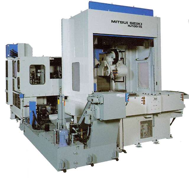 mitsui seiki high performance 5 axis tilt spindle machining center